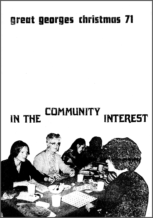 cover of Towards the Community Interest