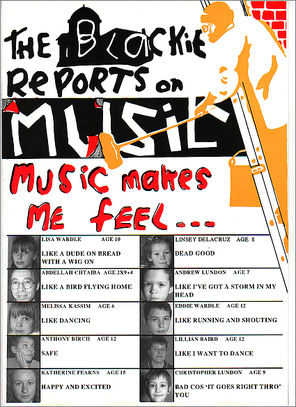 Cover on The Blackie Reports On Music