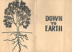 Cover of Down To Earth Booklet