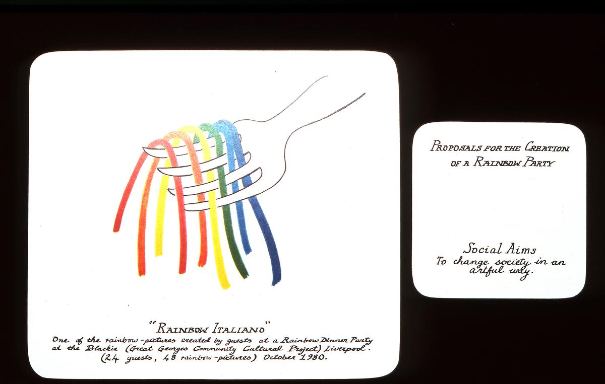 Rainbows at Dinner